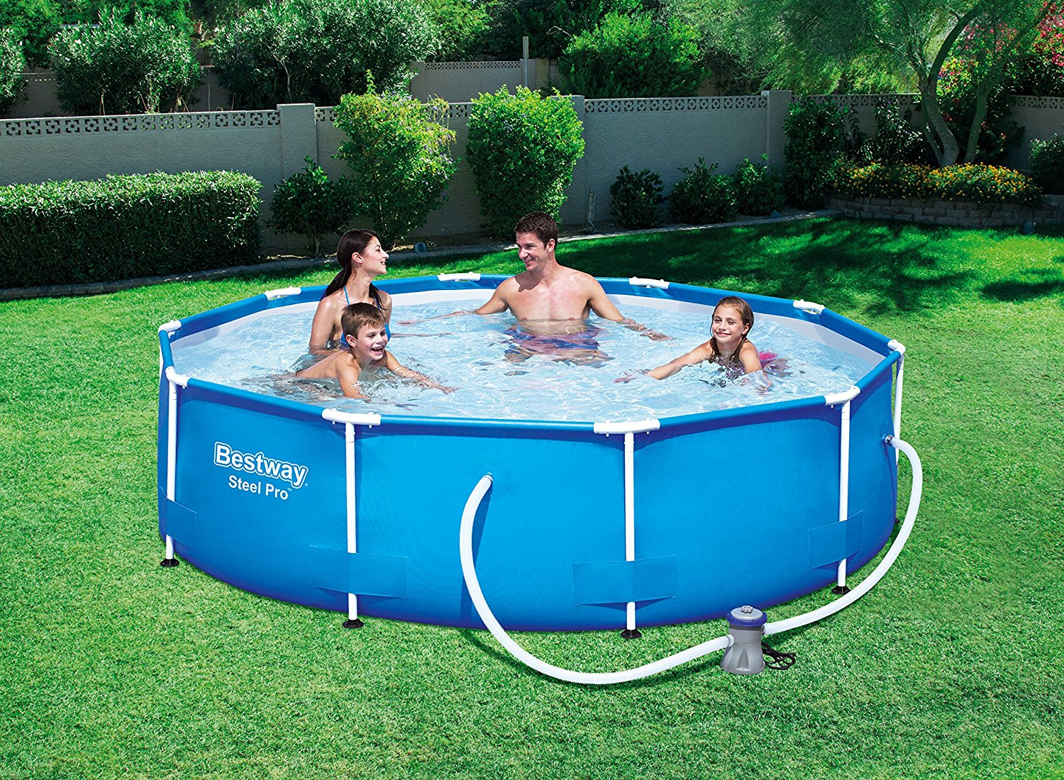 Bestway 56408 piscina steel pro frame opinioni e for Piscine fuori terra best way