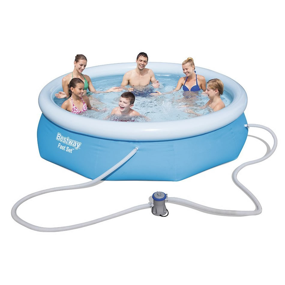 Bestway 57270 piscina fast set opinioni e prezzi for Bestway piscine catalogo