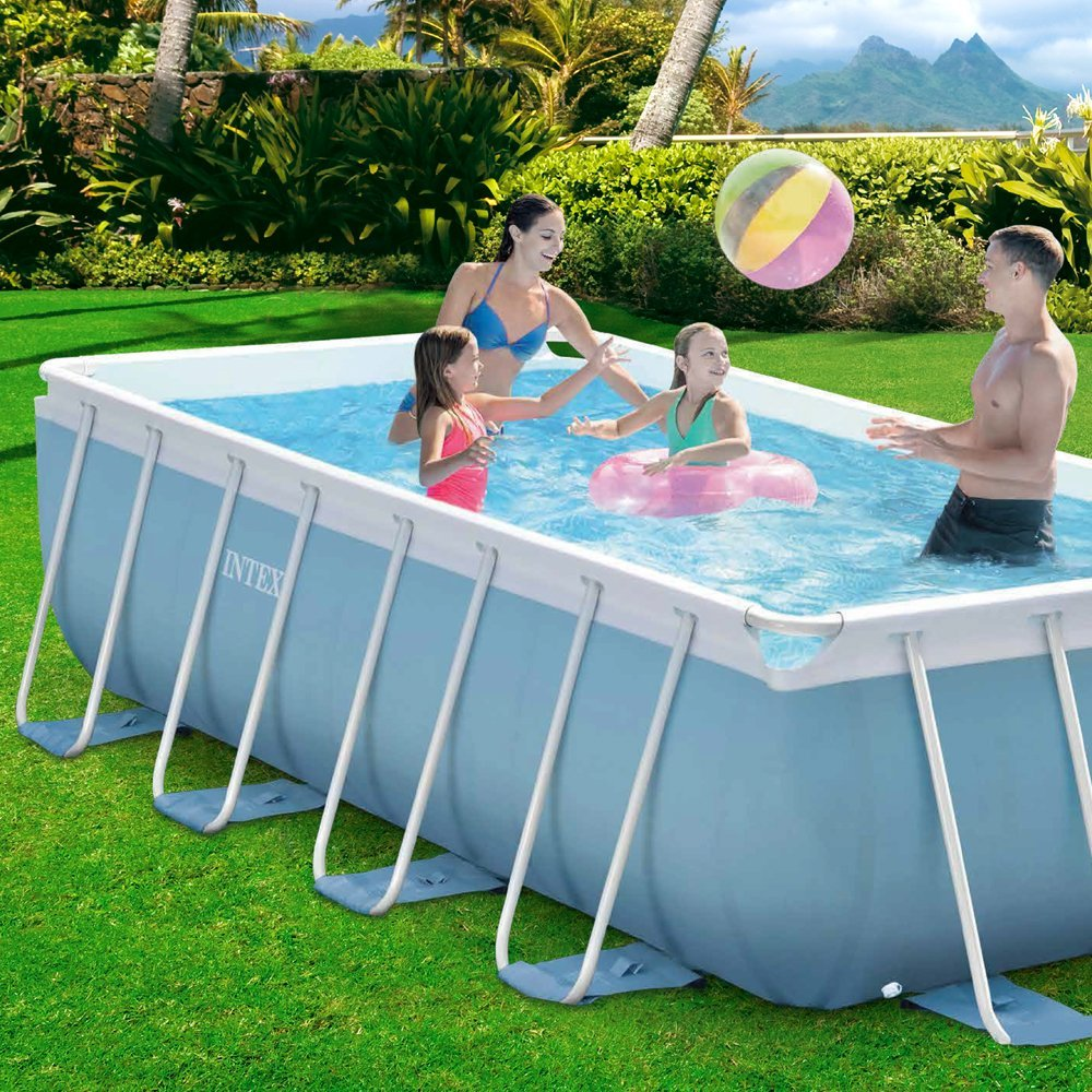 Intex 28316 piscina prisma frame opinioni e prezzi - Poltrone gonfiabili per piscina ...