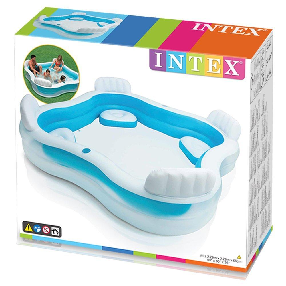 Intex 56475 piscina gonfiabile con 4 sedili opinioni e - Amazon piscina bambini ...